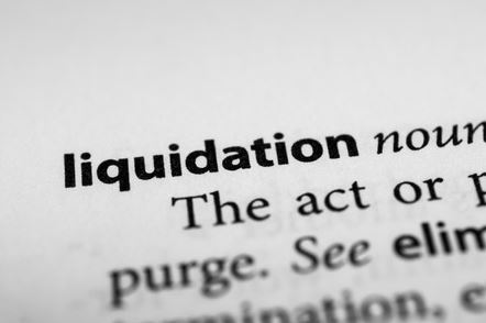 a screenshot of the definition of liquidation